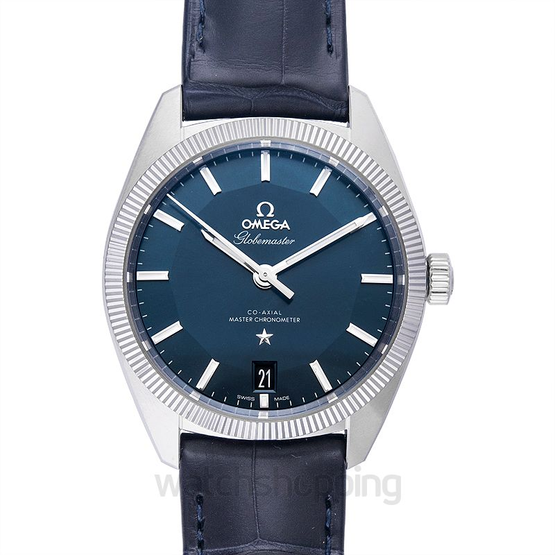 Omega Constellation Automatic Blue Dial Men's Watch