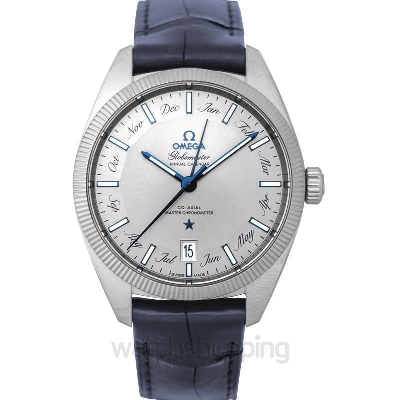 Omega Constellation Globemaster Co‑Axial Master Chronometer Annual Calendar 41mm Automatic Grey Dial Steel Men's Watch