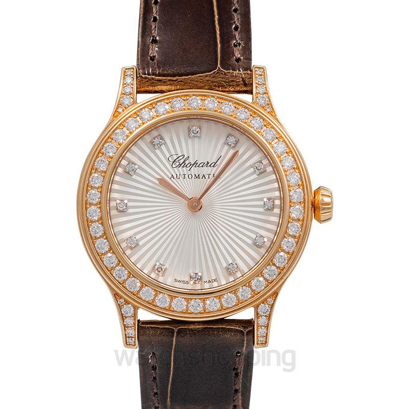 Chopard Rose Gold Ladies Watch