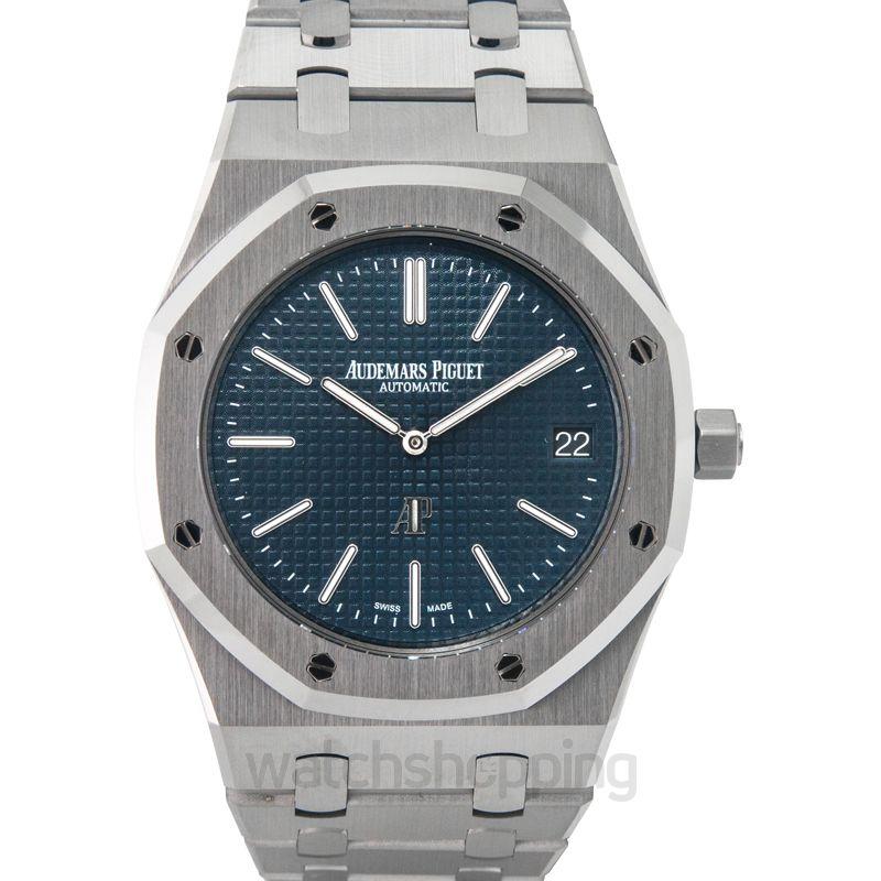 Audemars Piguet Royal Oak Blue Dial Men's Watch