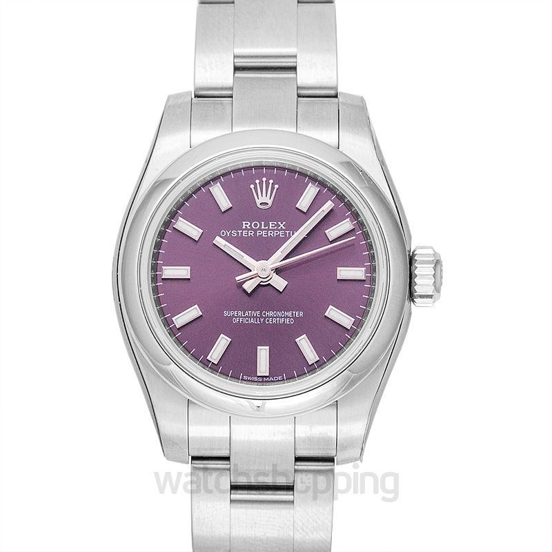 Rolex Oyster Perpetual 26 Red Grape