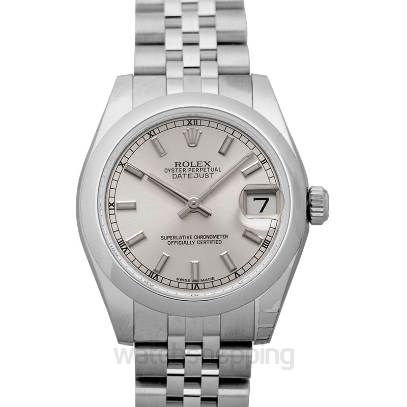 Rolex Datejust 31 Steel Automatic Silver Dial Ladies Watch