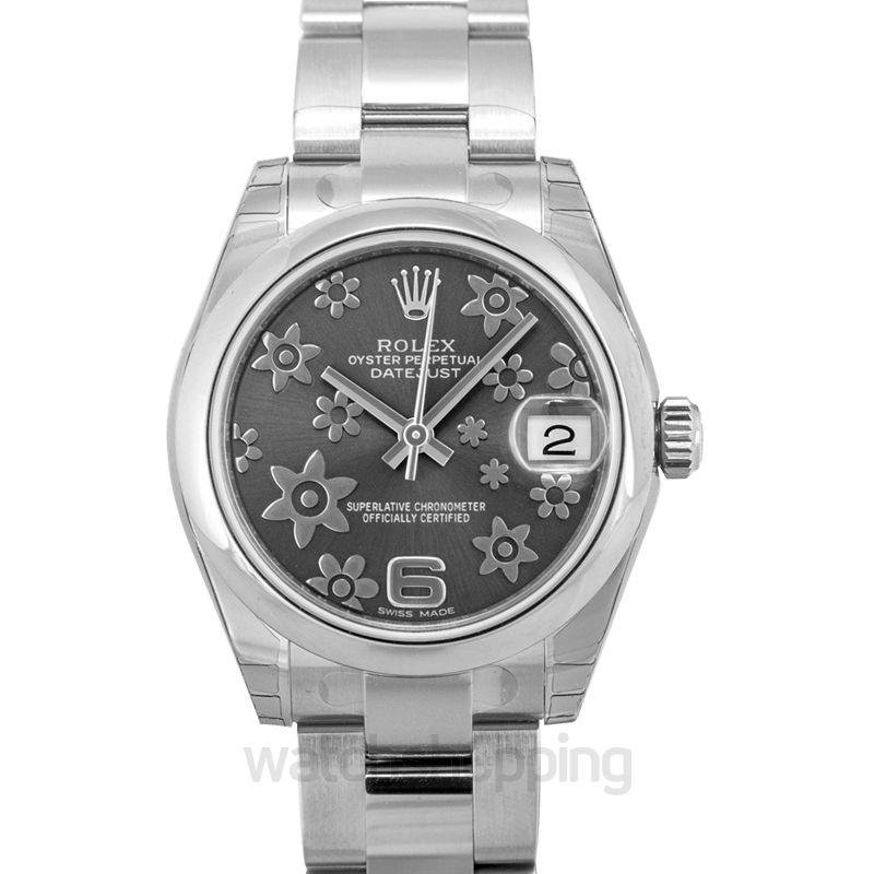 Rolex Lady Datejust Automatic Grey Dial Ladies Watch