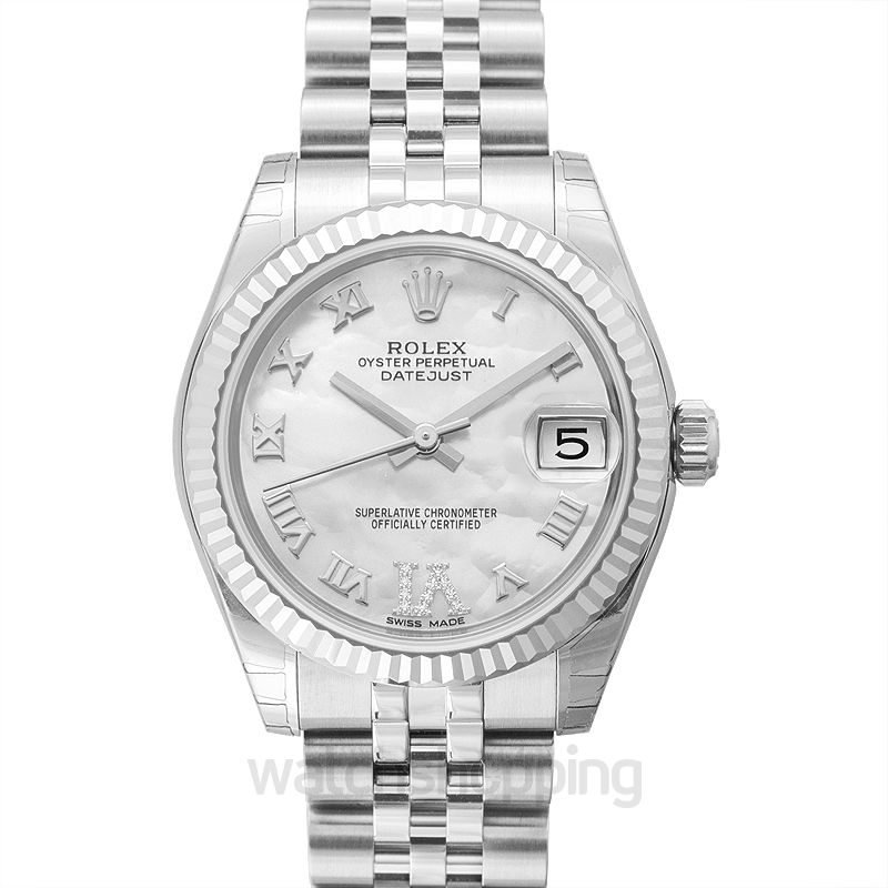 Rolex Datejust 31 Stainless Steel Fluted / Jubilee / MOP Roman
