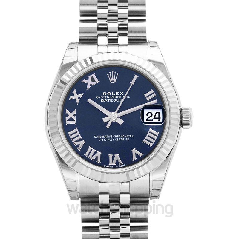 Rolex Rolex Datejust Lady 31 Blue Dial Stainless Steel Jubilee Bracelet Automatic Watch 178274BLRJ