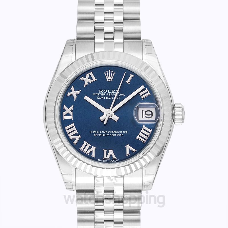 Rolex Datejust Blue Dial Unisex Watch