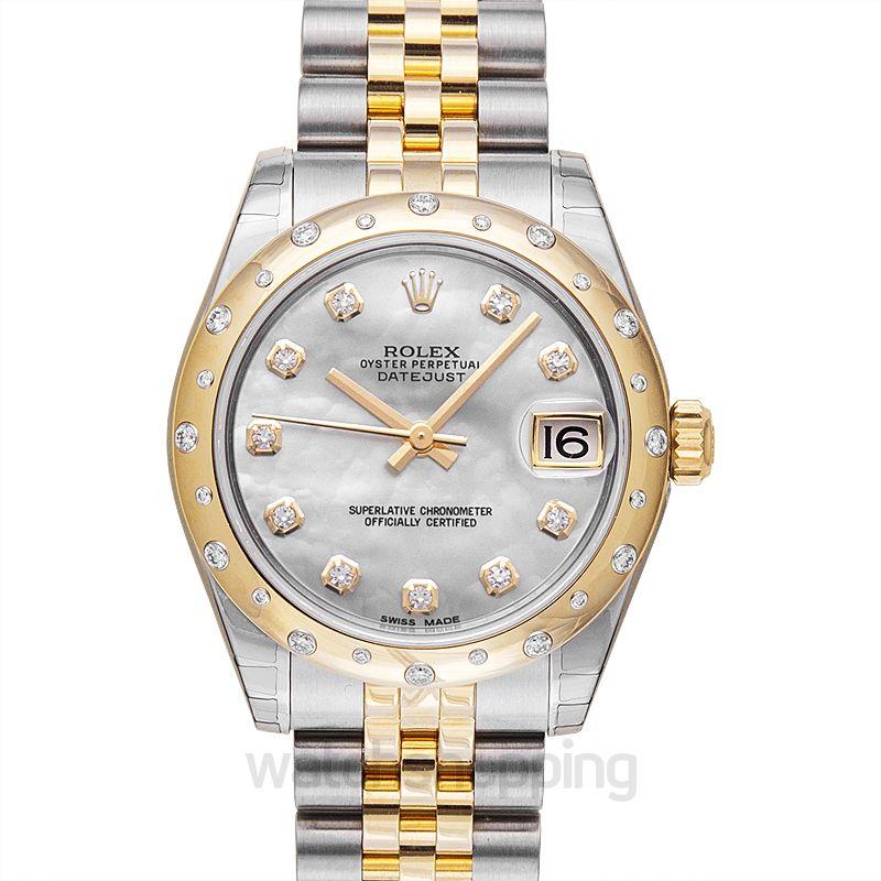 Rolex Datejust 31 Rolesor Yellow Domed Diamond / Jubilee / MOP Diamond
