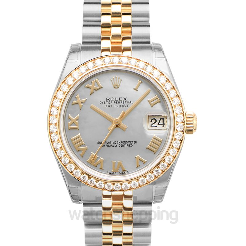 Rolex Datejust Automatic Mother of pearl Dial Ladies Watch