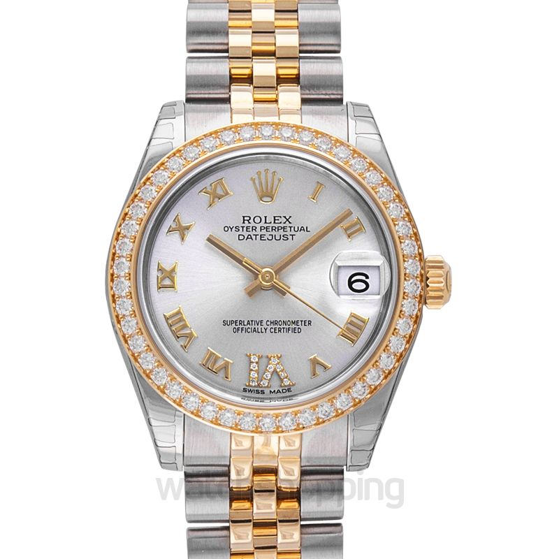 Rolex Datejust Lady 31 Grey Dial Stainless Steel And 18k Yellow Gold Jubilee Bracelet Automatic Watch 178383grdj