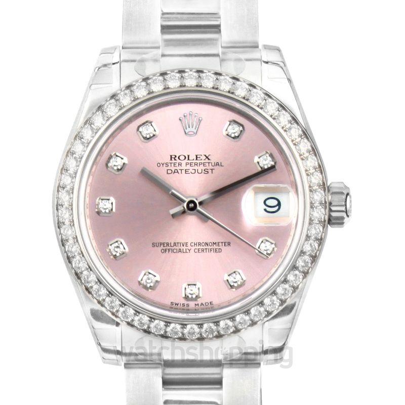 Rolex Datejust 31 Stainless Steel Diamond / Jubilee / Pink Diamond