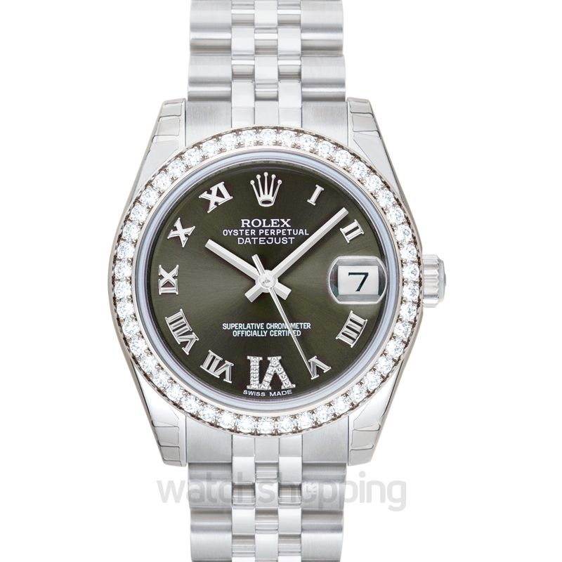 Rolex Lady Datejust Green Dial Ladies Watch