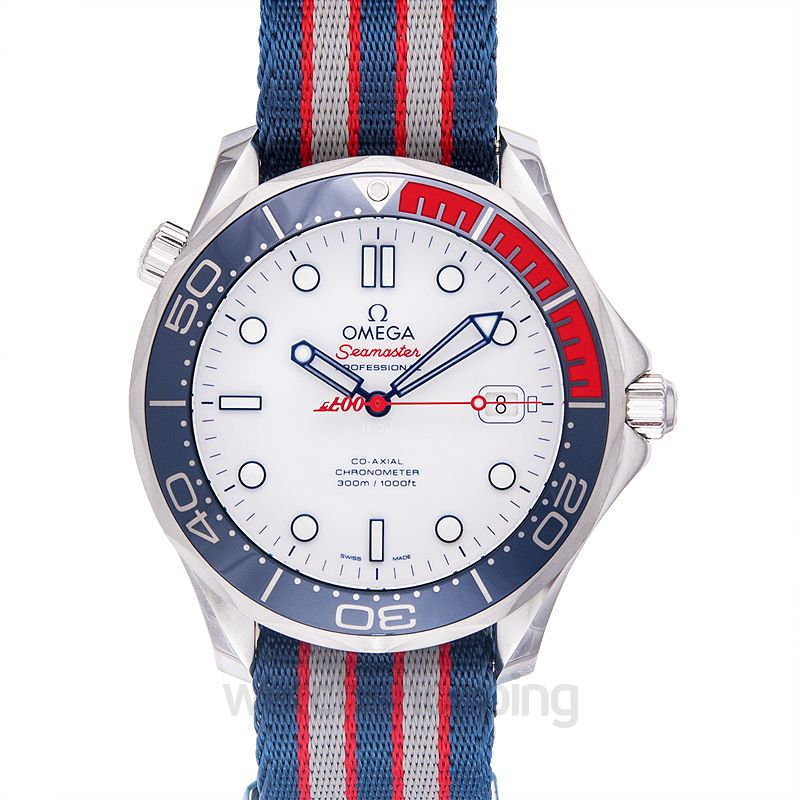 Omega Seamaster Diver 300M Co-Axial 41 Stainless Steel /James Bond Commander's Watch