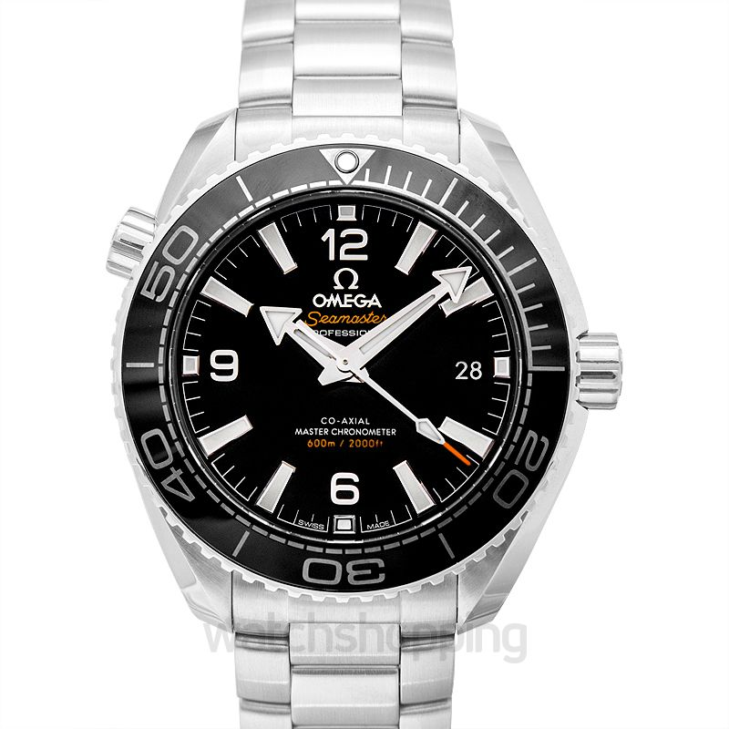 Omega Seamaster Planet Ocean 600M Co‑Axial Master Chronometer 39.5 mm Automatic Black Dial Steel Men's Watch