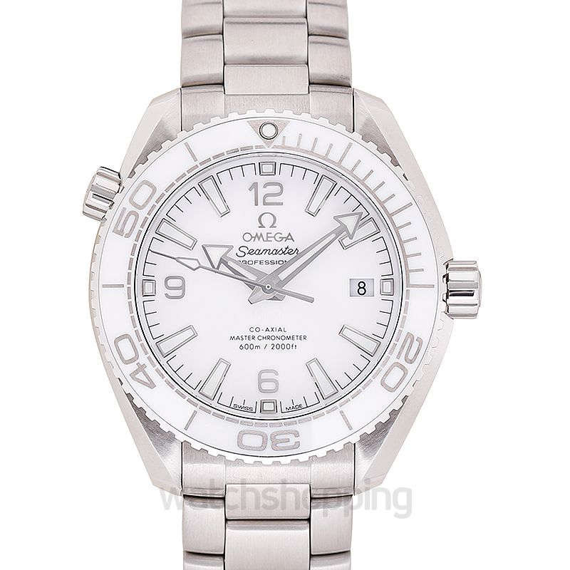 Omega Seamaster Automatic White Dial Men's Watch