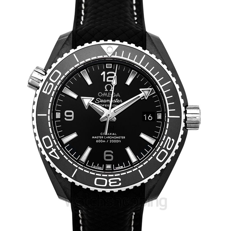 Omega Seamaster Automatic Black Dial Ladies Watch