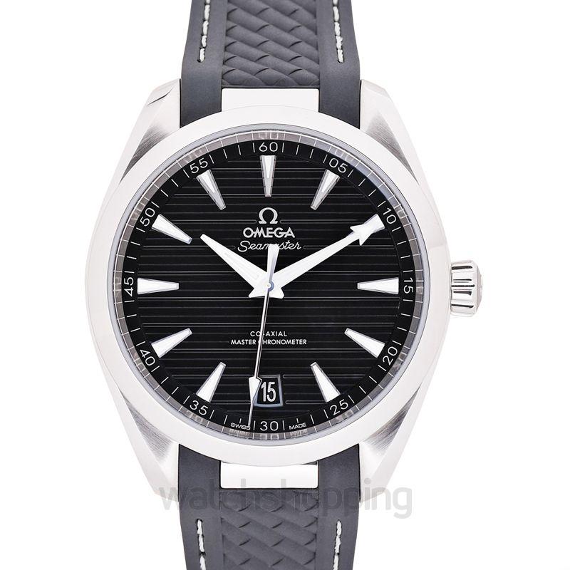 Omega Seamaster Aqua Terra 150M Co‑Axial Master Chronometer 41mm Automatic Black Dial Steel Men's Watch