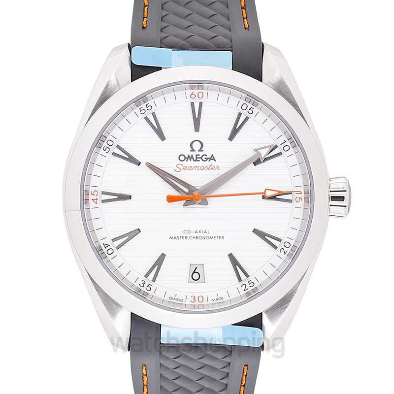 Omega Seamaster Aqua Terra 150M Co‑Axial Master Chronometer 41mm Automatic Silver Dial Steel Men's Watch