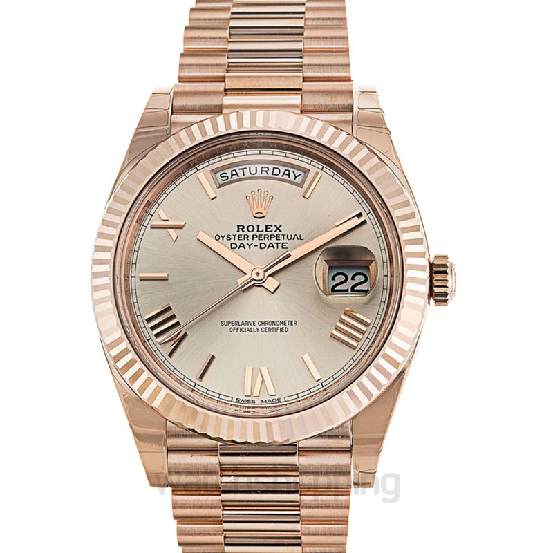 Rolex Day Date Automatic Grey Dial Men's Watch