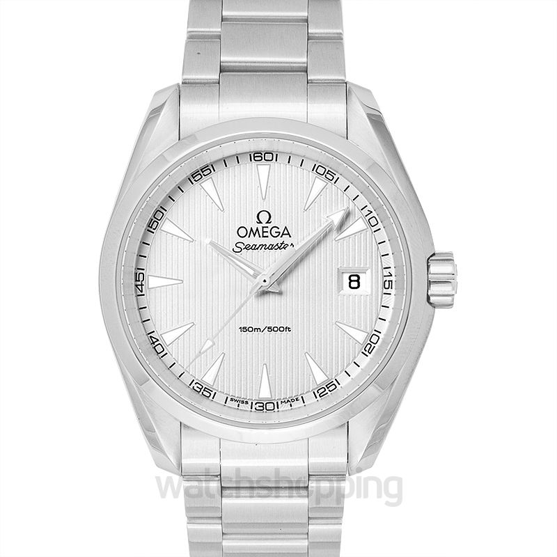 Omega Seamaster Quartz Silver Dial Men's Watch