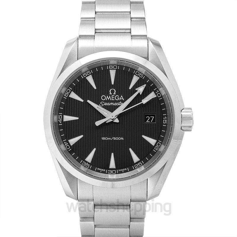 Omega Seamaster Aqua Terra 150M Quartz 38.5mm Grey Dial Steel Men's Watch