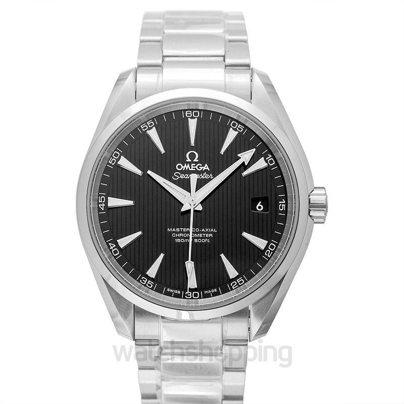 Omega Seamaster Aqua Terra 150M Master Co‑Axial 41.5mm Automatic Black Dial Steel Men's Watch