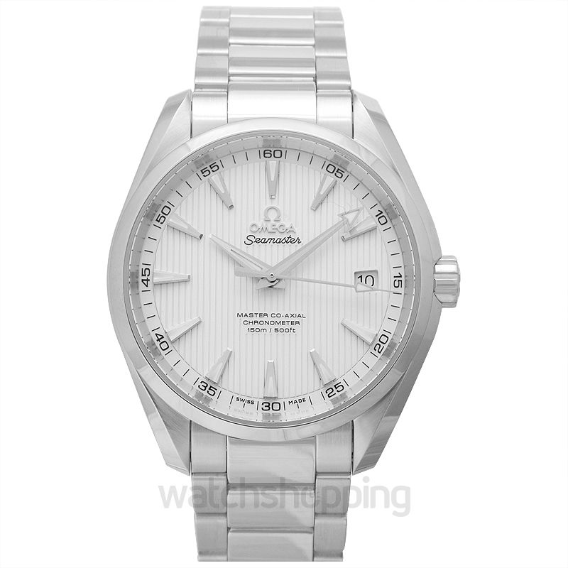 Omega Seamaster Aqua Terra 150M Master Co‑Axial 41.5mm Automatic Silver Dial Steel Men's Watch