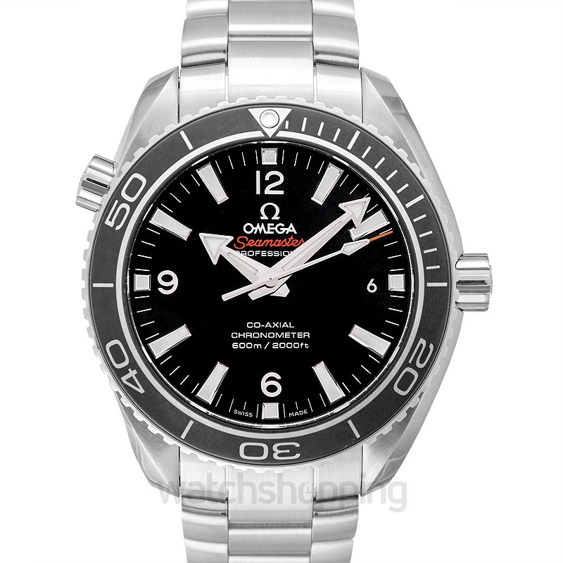 Omega Seamaster Planet Ocean 600M Co‑Axial 42 mm Black Dial Steel Men's Watch