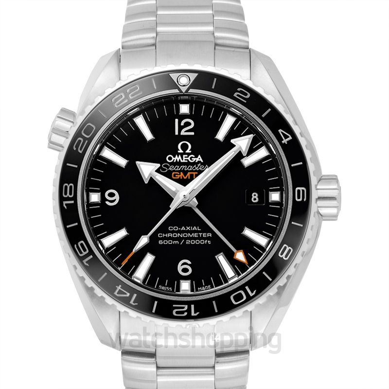 Omega Seamaster Planet Ocean 600M Co‑axial GMT 43.5mm Automatic Black Dial Steel Men's Watch