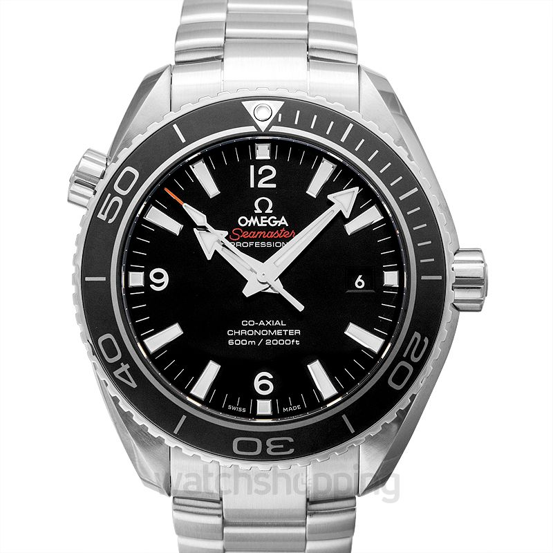 Omega Seamaster Automatic Black Dial Men's Watch