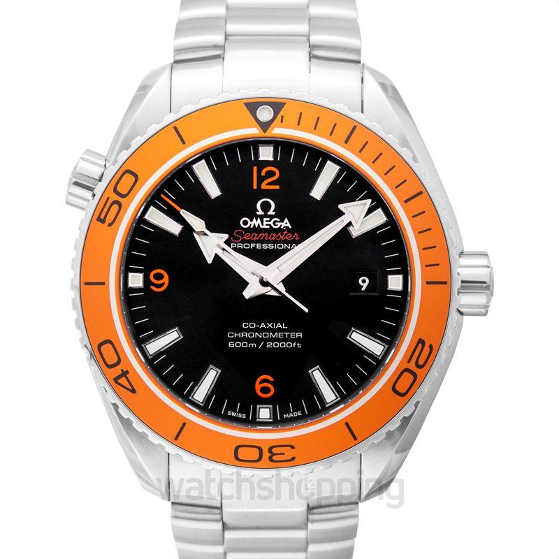 Omega Seamaster Planet Ocean 600M Co‑Axial 45.5mm Black Dial Steel Men's Watch