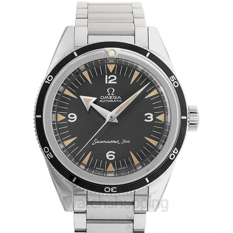 Omega Seamaster The Collection Co‑Axial Master Chronometer 39 mm Automatic Black Dial Steel Men's Watch