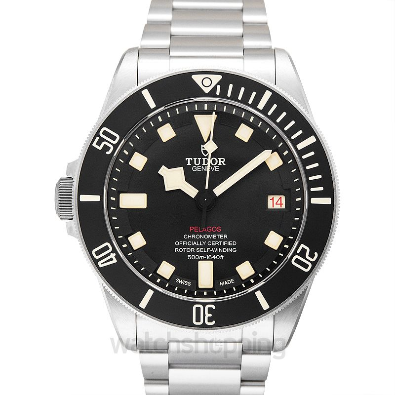 Tudor Pelagos LHD Titanium Automatic Black Dial Men's Watch