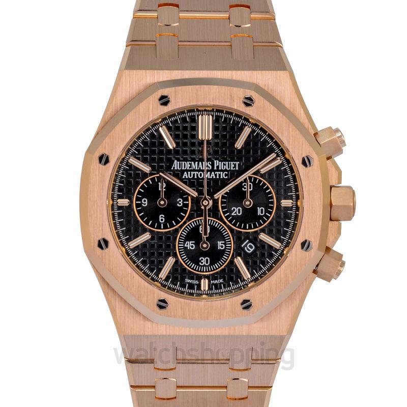 Audemars Piguet Royal Oak Chronograph 41 Pink Gold / Black