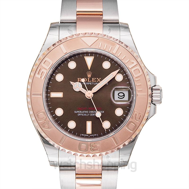 Rolex Yacht-Master 37 Rolesor Everose / Chocolate
