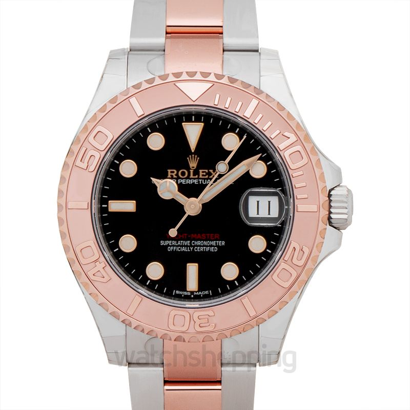 Rolex Yacht Master Automatic Black Dial Ladies Watch