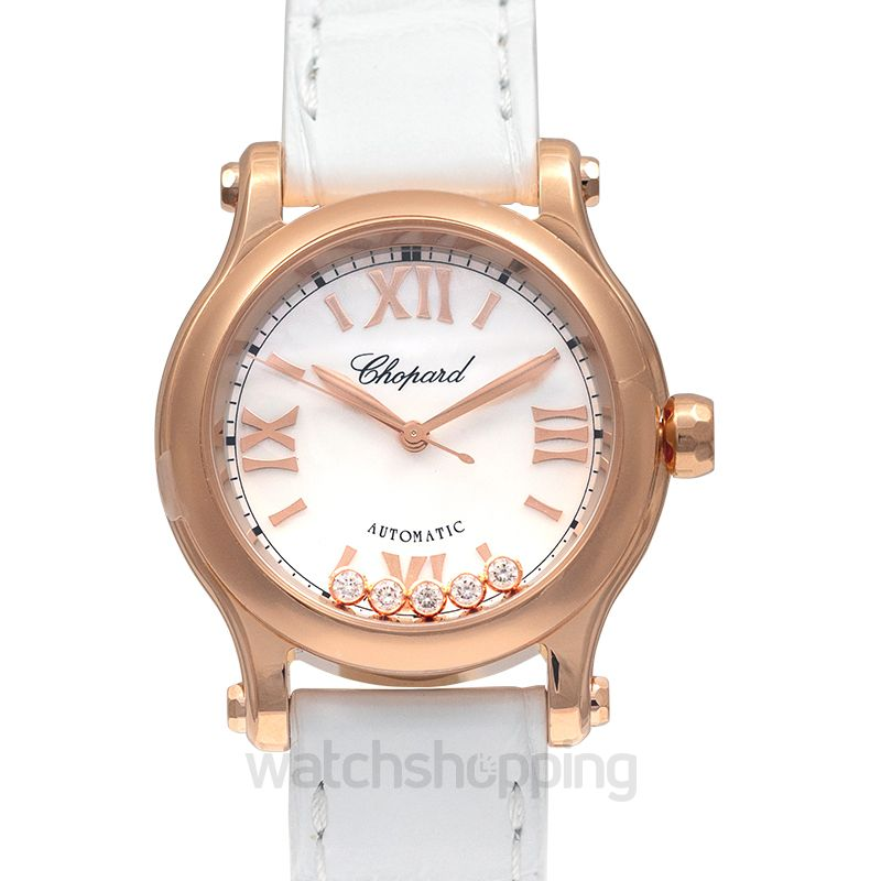 Chopard Happy Diamonds Automatic Mother Of Pearl Dial Ladies Watch