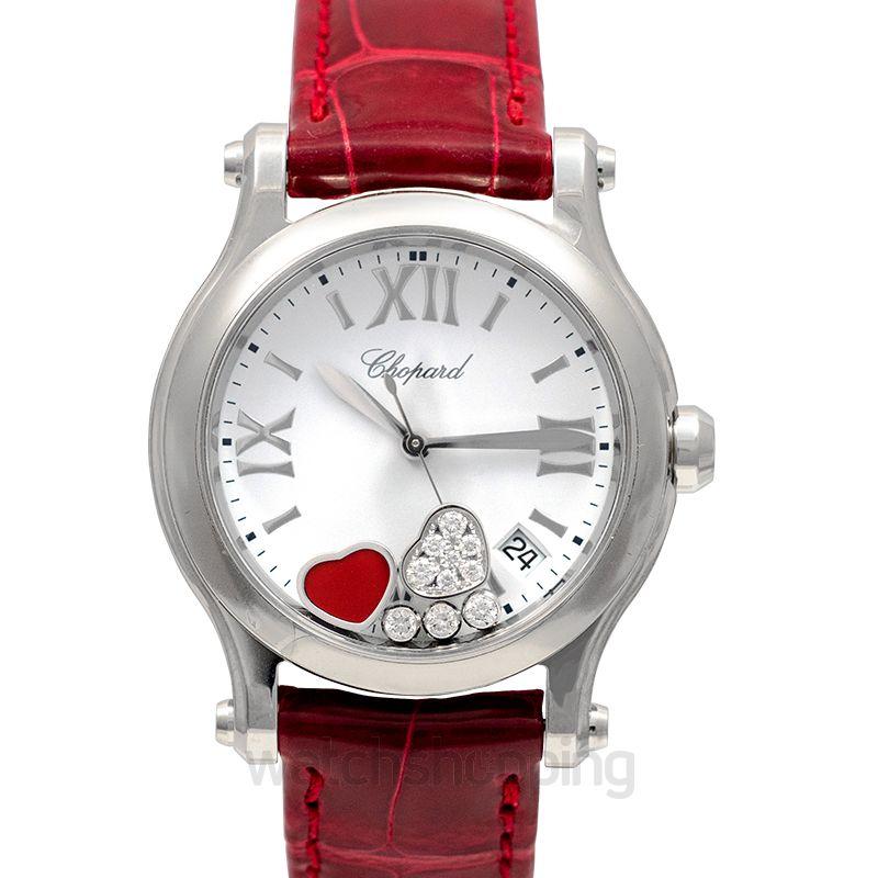 Chopard Happy Sport Quartz White Dial Diamonds Ladies Watch