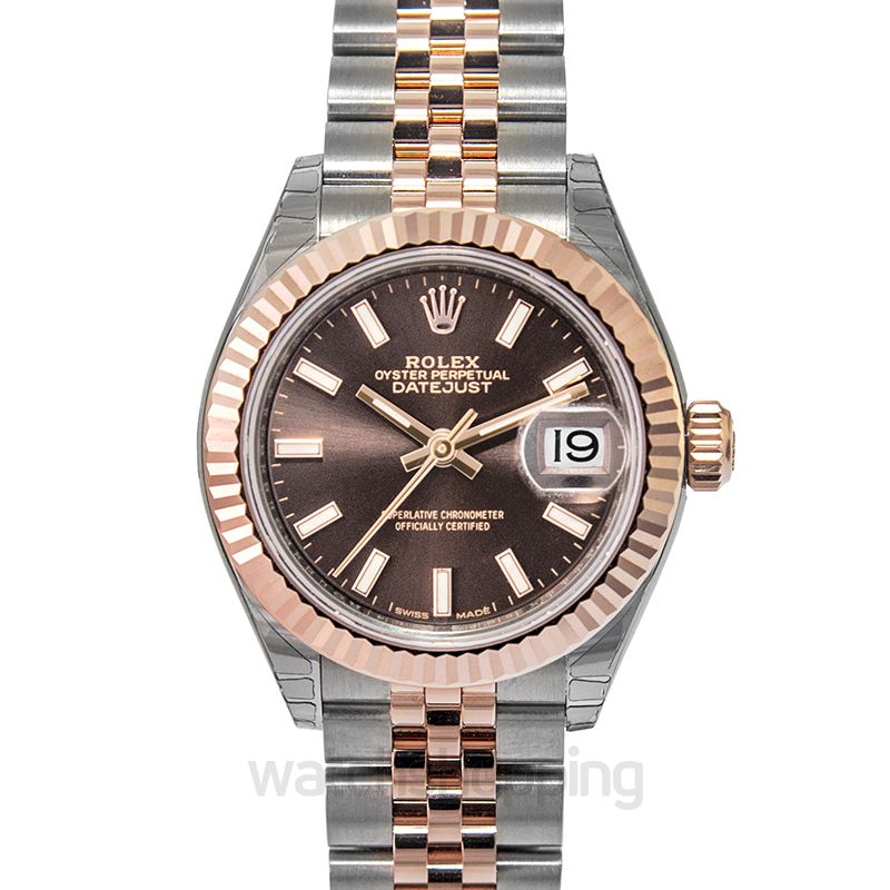 Rolex Lady Datejust Automatic Brown Dial Ladies Watch