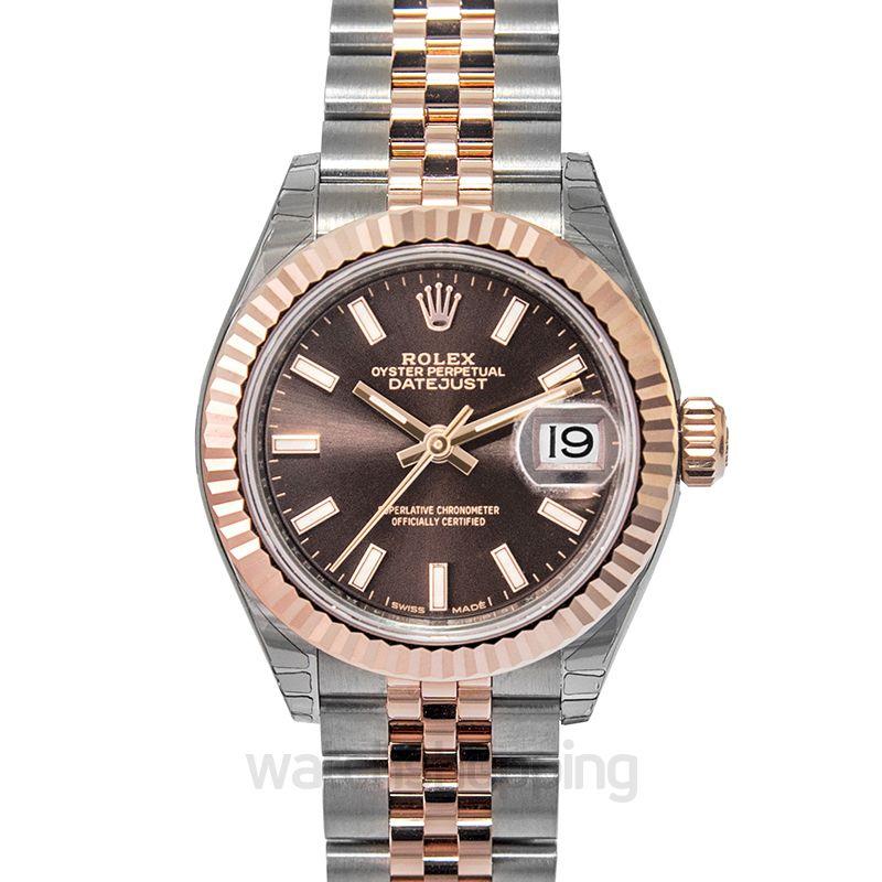 Rolex Rolex Lady Datejust Chocolate Dial Automtic Ladies Watch 279171CHSJ