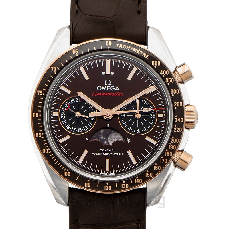 Omega Speedmaster Automatic Brown Dial Men's Watch