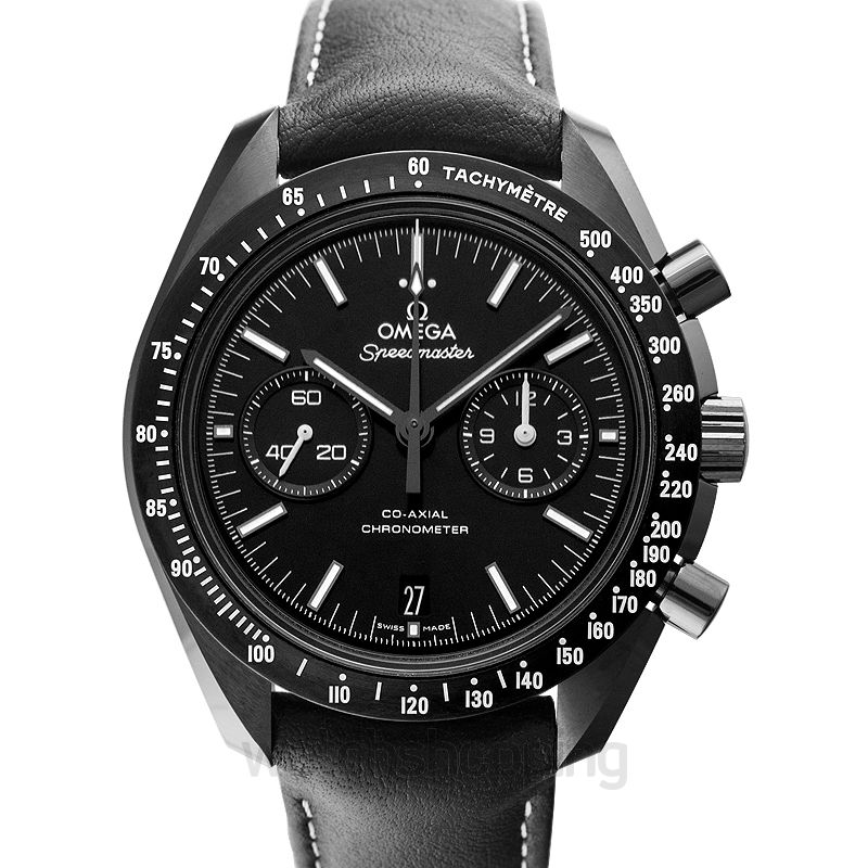 Omega Speedmaster Moonwatch Co‑Axial Chronograph 44.25mm Automatic Black Dial Ceramic Men's Watch