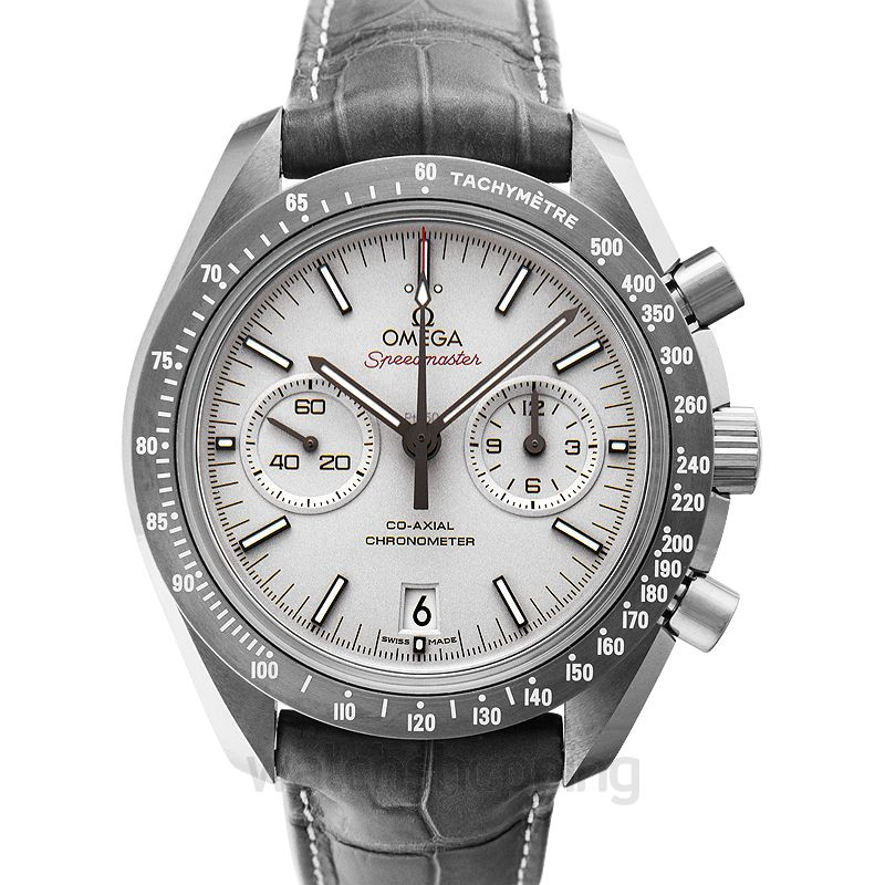 Omega Speedmaster Moonwatch Co‑Axial Chronograph 44.25mm Automatic Grey Dial Ceramic Men's Watch