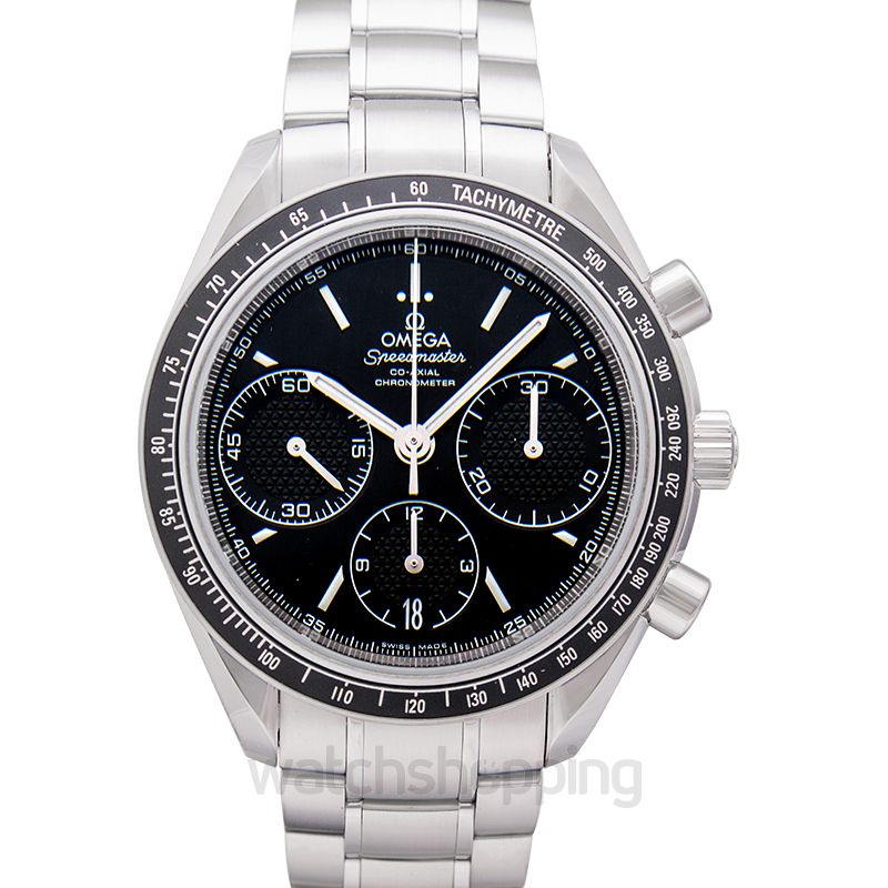 Omega Speedmaster Racing Co‑Axial Chronograph 40mm Automatic Black Dial Steel Men's Watch