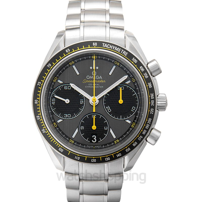 Omega Speedmaster Racing Co‑Axial Chronograph 40mm Grey Dial Steel Unisex Watch
