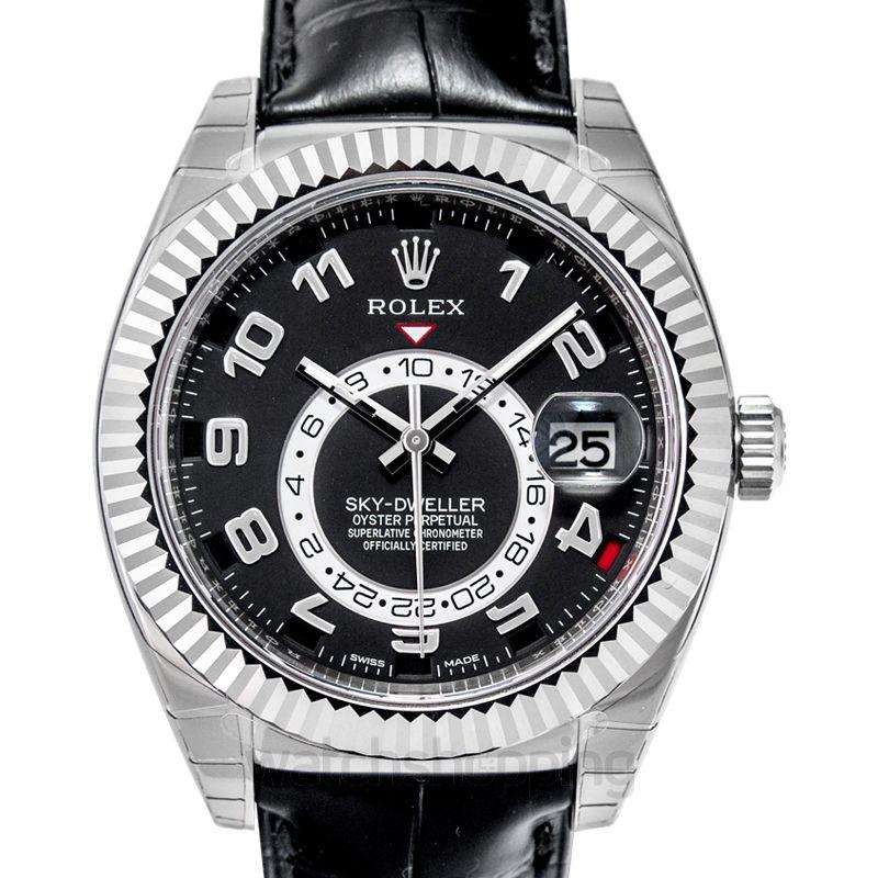 Rolex Sky Dweller Automatic Black Dial Men's Watch