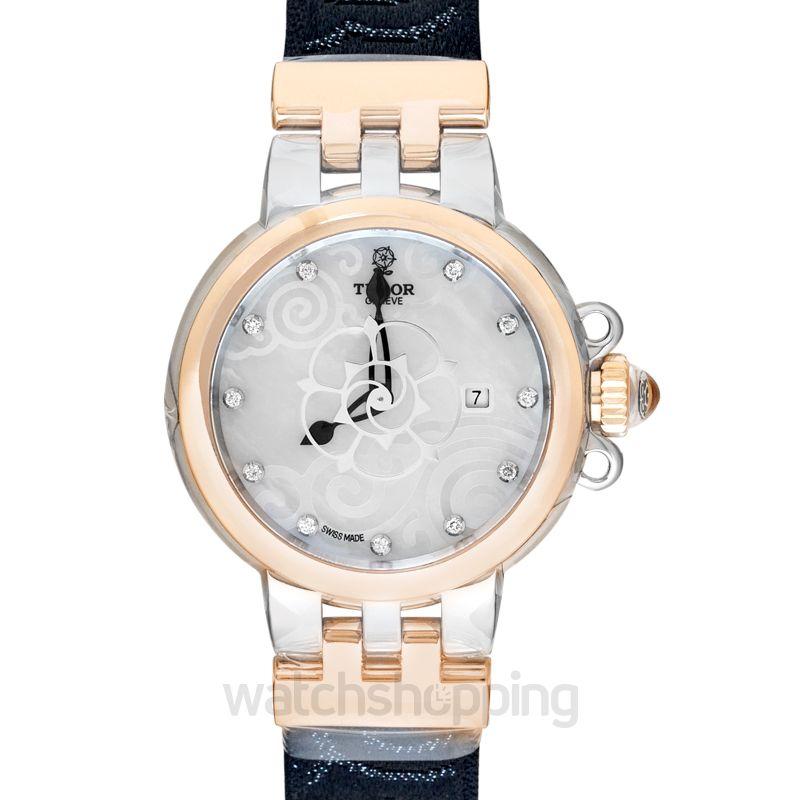 Tudor Clair De Rose Mother of pearl Dial Ladies Watch