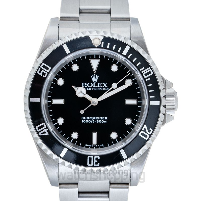 Rolex Submariner Black/Steel Ø40mm