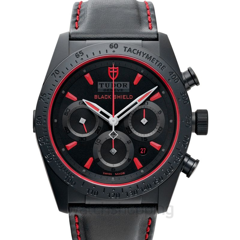 Tudor Fastrider Chrono Automatic Black Dial Men's Watch