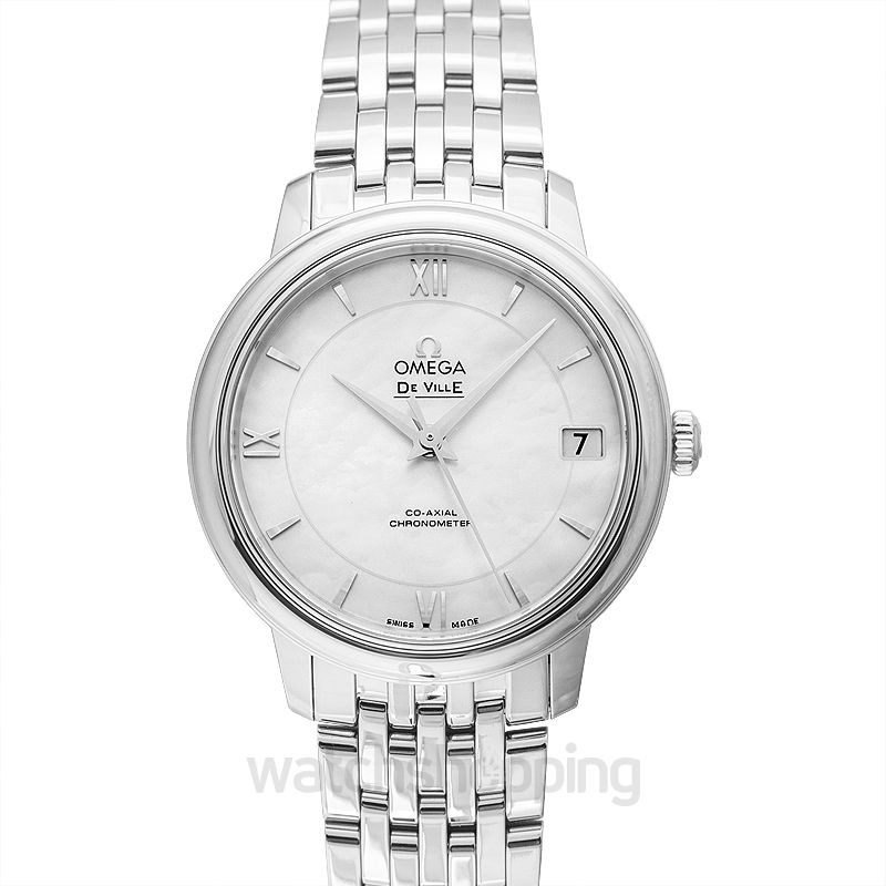 Omega De Ville Prestige Co‑Axial 32.7 mm Automatic White Dial Steel Ladies Watch