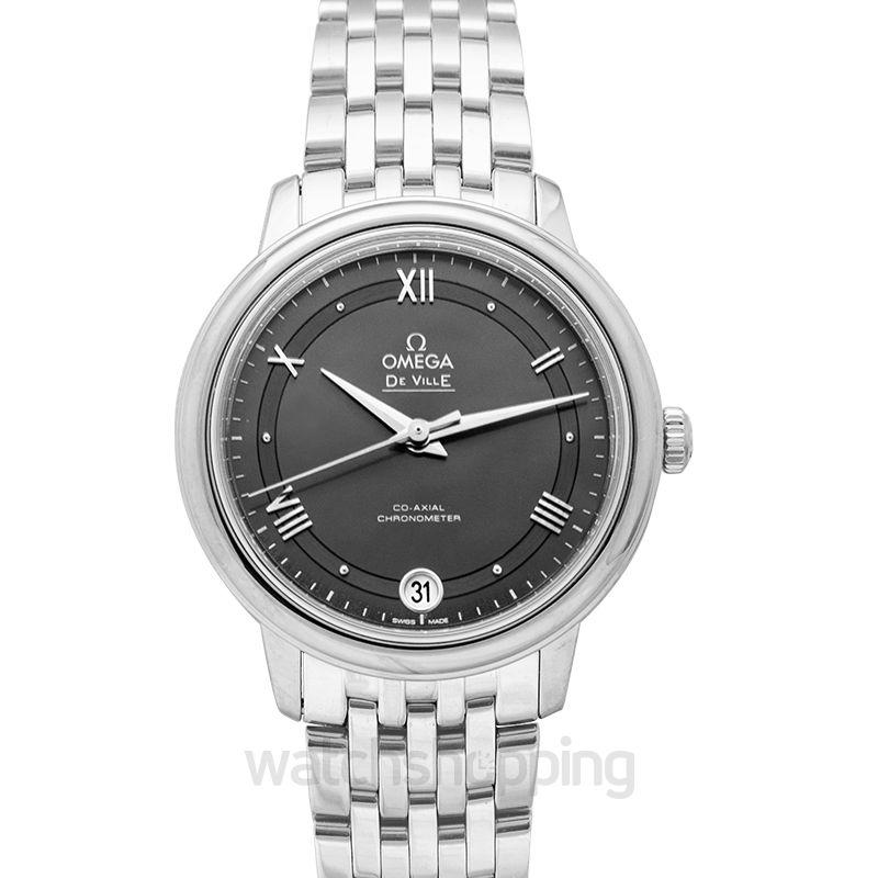 Omega De Ville Automatic Grey Dial Ladies Watch